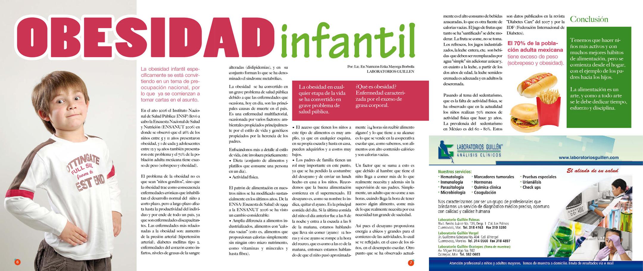 Obesidad Infantil | Tu Salud Cuernavaca